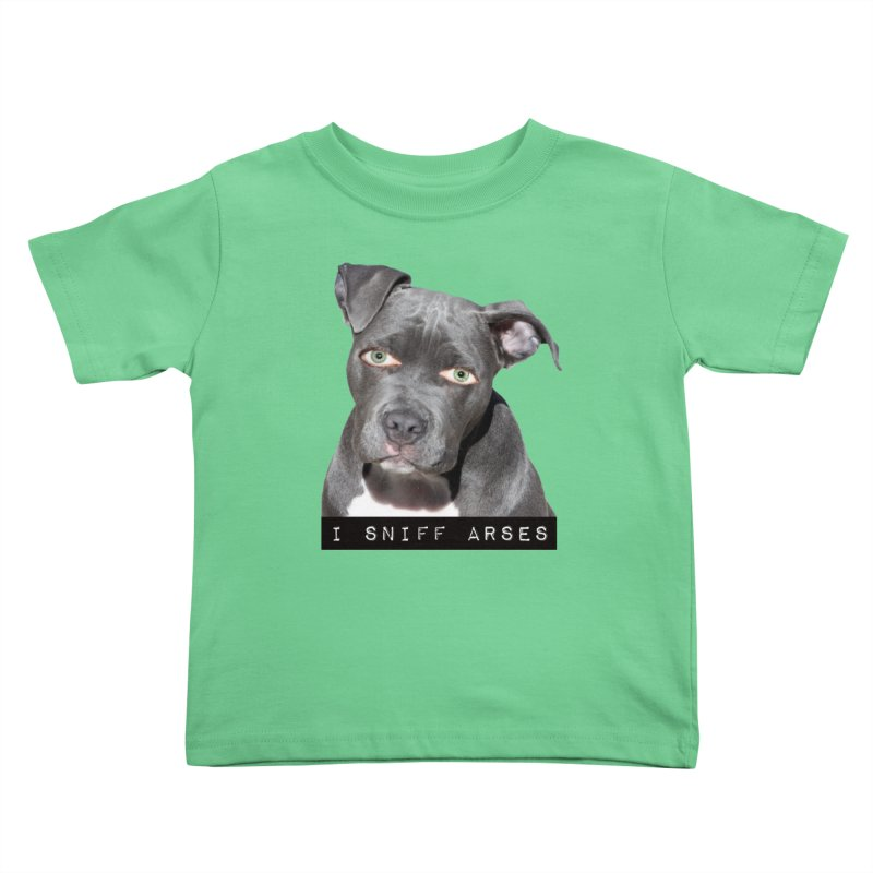 I Sniff Arses Kids Toddler T-Shirt by The Rake & Herald Online Clag Emporium