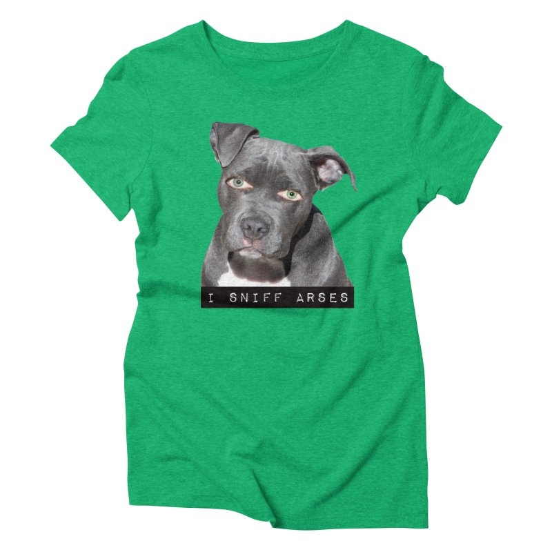 I Sniff Arses Women's Triblend T-shirt by The Rake & Herald Online Clag Emporium
