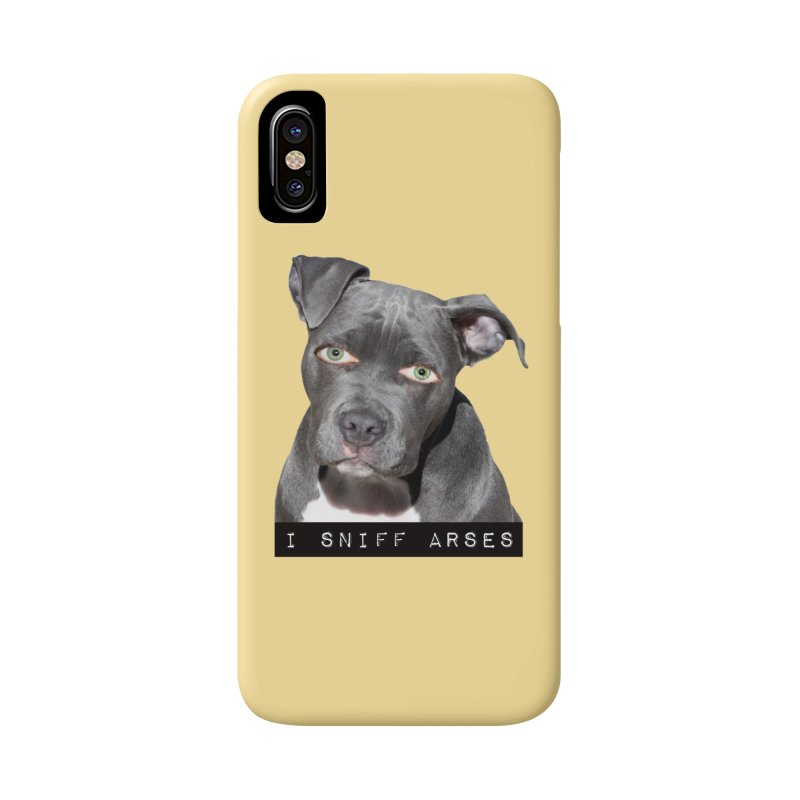 I Sniff Arses Accessories Phone Case by The Rake & Herald Online Clag Emporium