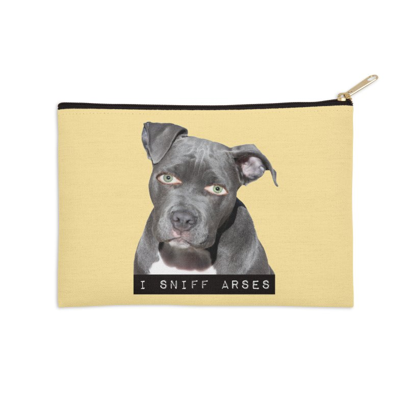I Sniff Arses Accessories Zip Pouch by The Rake & Herald Online Clag Emporium