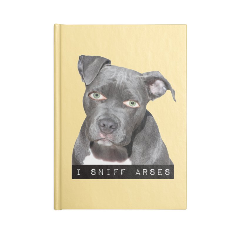 I Sniff Arses Accessories Notebook by The Rake & Herald Online Clag Emporium