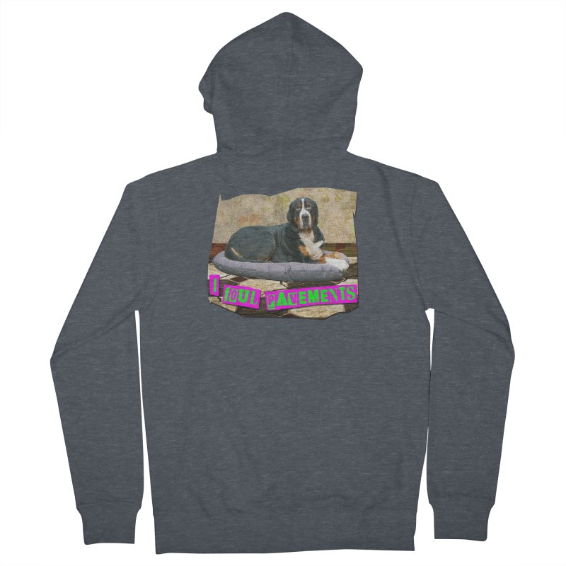 I Foul Pavements Women's Zip-Up Hoody by The Rake & Herald Online Clag Emporium