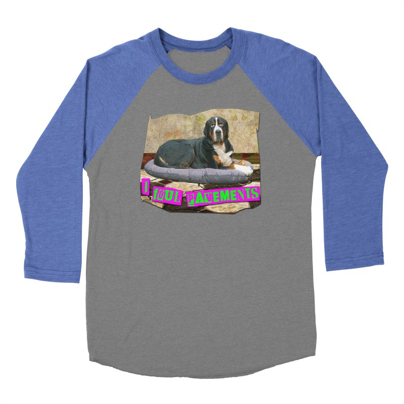 I Foul Pavements Women's Baseball Triblend T-Shirt by The Rake & Herald Online Clag Emporium
