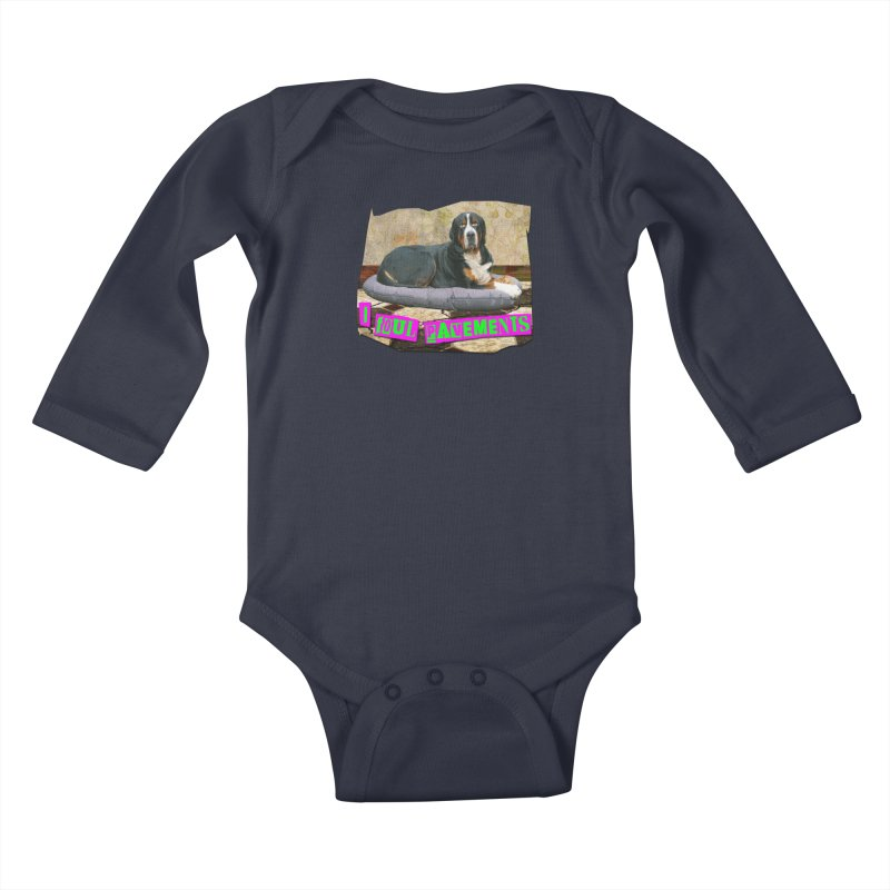 I Foul Pavements Kids Baby Longsleeve Bodysuit by The Rake & Herald Online Clag Emporium