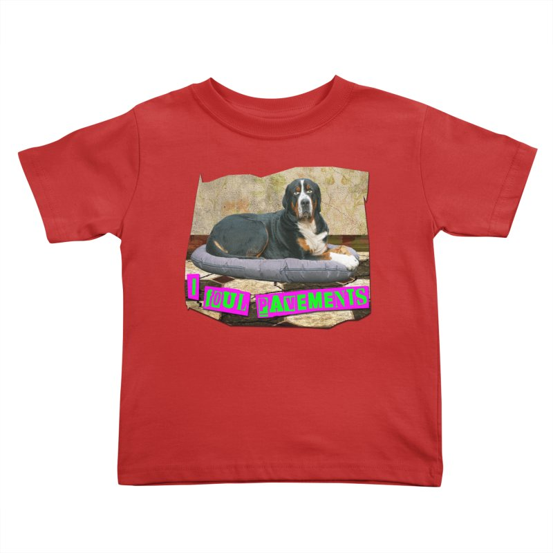 I Foul Pavements Kids Toddler T-Shirt by The Rake & Herald Online Clag Emporium