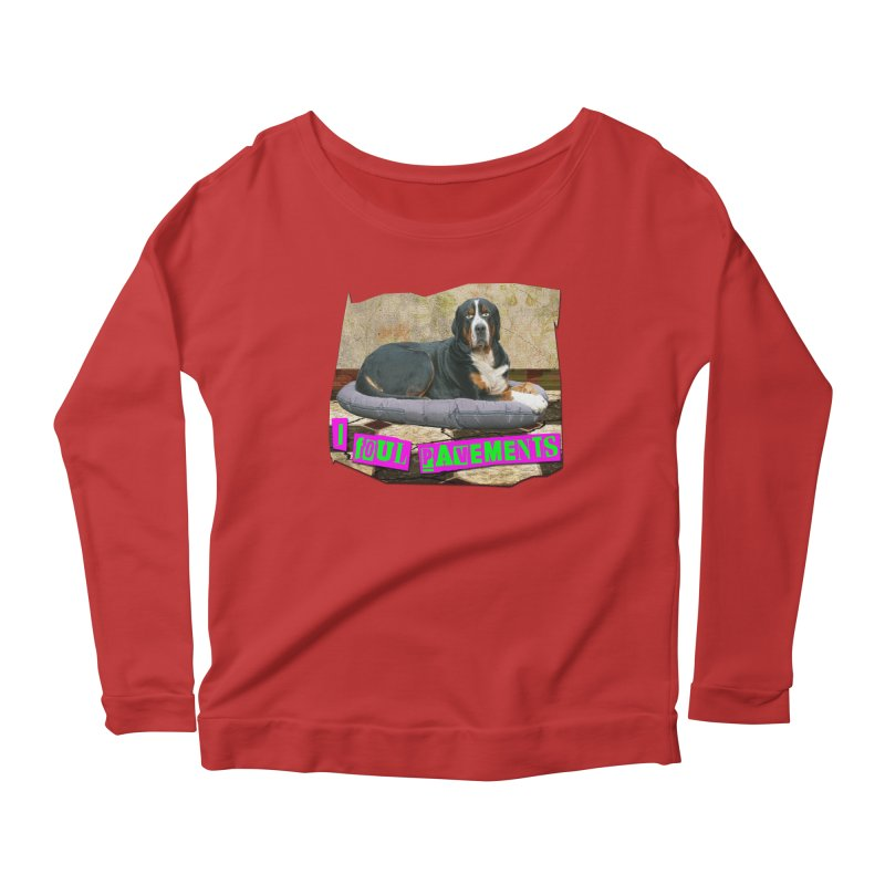 I Foul Pavements Women's Longsleeve Scoopneck  by The Rake & Herald Online Clag Emporium