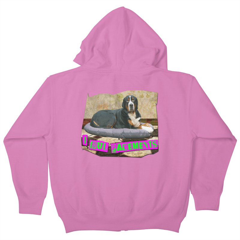 I Foul Pavements Kids Zip-Up Hoody by The Rake & Herald Online Clag Emporium