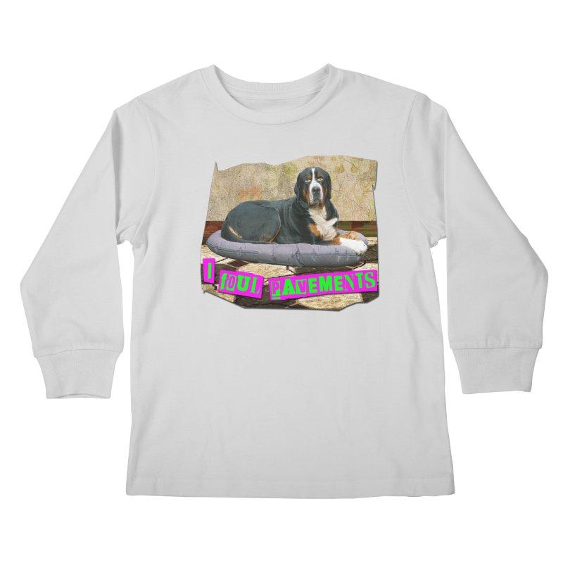 I Foul Pavements Kids Longsleeve T-Shirt by The Rake & Herald Online Clag Emporium