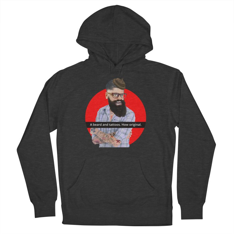 A Beard and Tattoos Women's Pullover Hoody by The Rake & Herald Online Clag Emporium