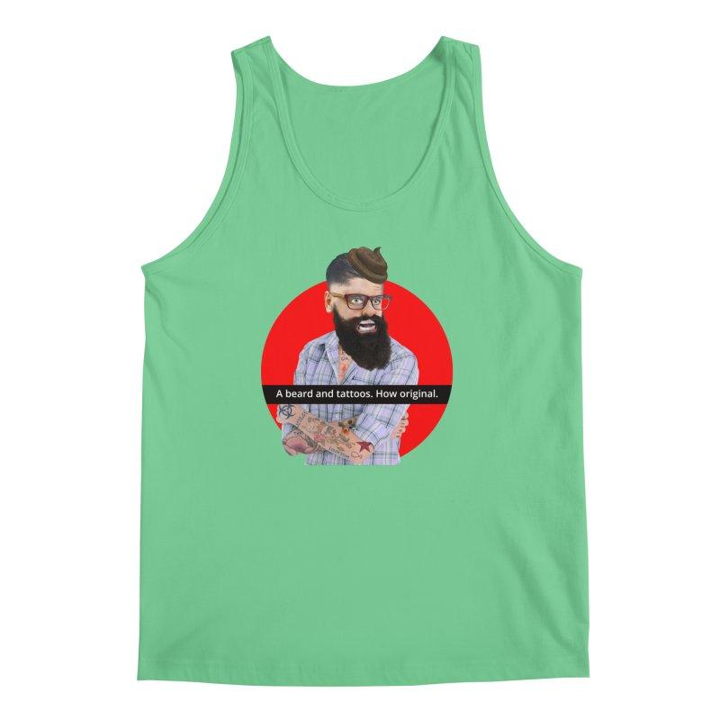 A Beard and Tattoos Men's Tank by The Rake & Herald Online Clag Emporium