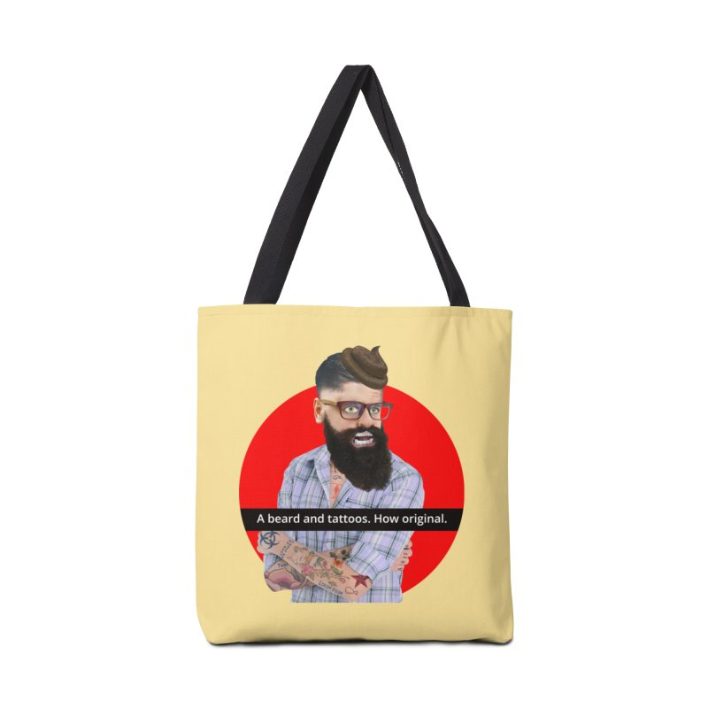 A Beard and Tattoos Accessories Bag by The Rake & Herald Online Clag Emporium