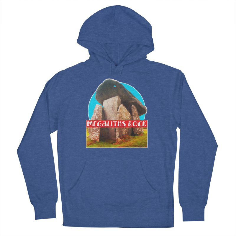 Megaliths Rock Women's Pullover Hoody by The Rake & Herald Online Clag Emporium