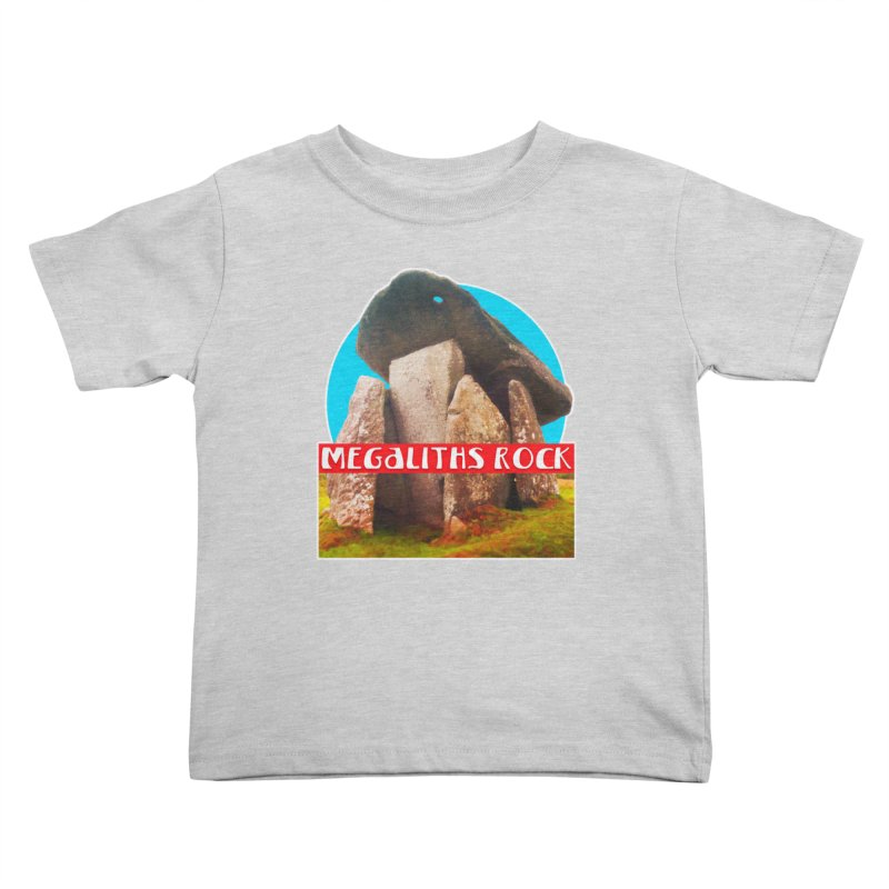 Megaliths Rock Kids Toddler T-Shirt by The Rake & Herald Online Clag Emporium