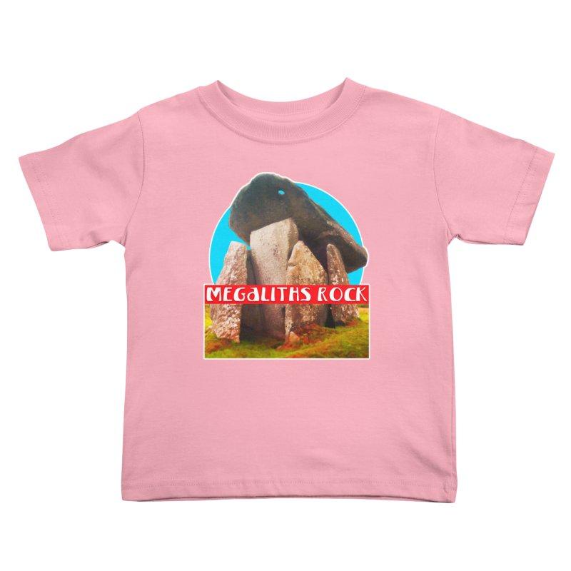 Megaliths Rock Kids Toddler T-Shirt by The Rake & Herald Online Clag Emporium