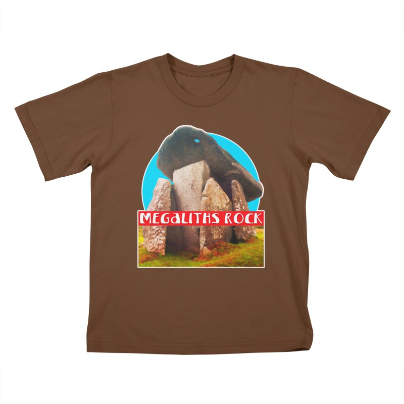 Megaliths Rock Kids T-Shirt by The Rake & Herald Online Clag Emporium