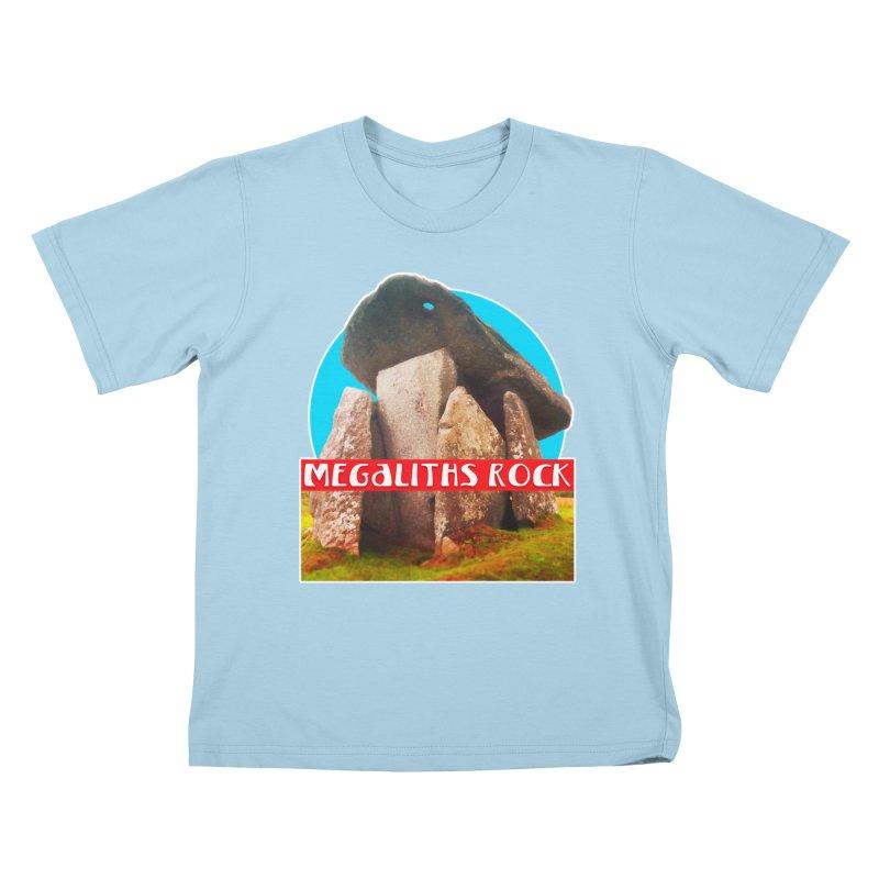 Megaliths Rock Kids T-Shirt by The Rake & Herald Online Clag Emporium