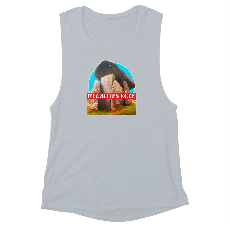 Megaliths Rock Women's Muscle Tank by The Rake & Herald Online Clag Emporium