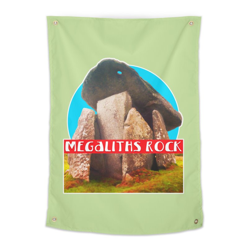 Megaliths Rock Home Tapestry by The Rake & Herald Online Clag Emporium