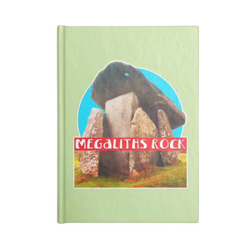 Megaliths Rock Accessories Notebook by The Rake & Herald Online Clag Emporium