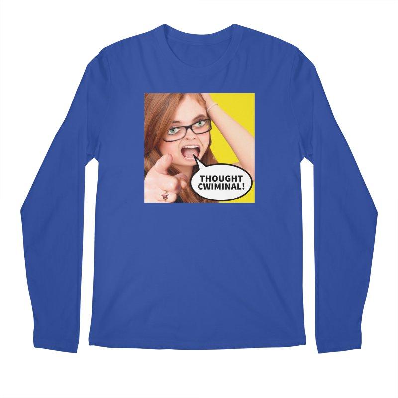 Thought Cwiminal Men's Longsleeve T-Shirt by The Rake & Herald Online Clag Emporium