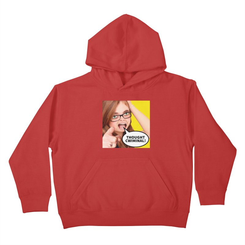Thought Cwiminal Kids Pullover Hoody by The Rake & Herald Online Clag Emporium