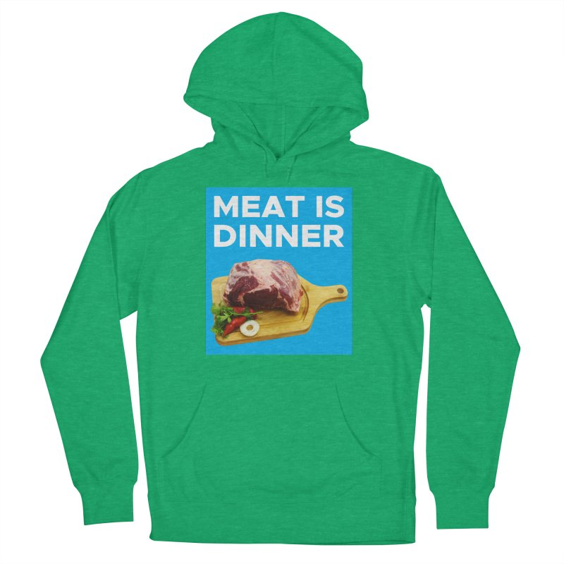 Meat Is Dinner Men's Pullover Hoody by The Rake & Herald Online Clag Emporium