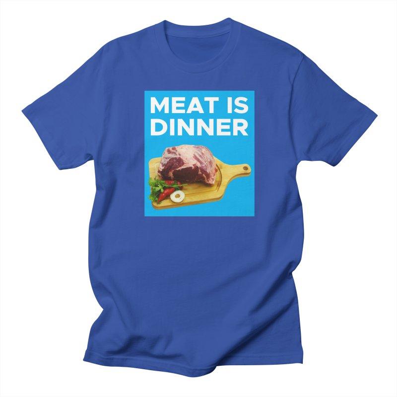 Meat Is Dinner Women's Unisex T-Shirt by The Rake & Herald Online Clag Emporium