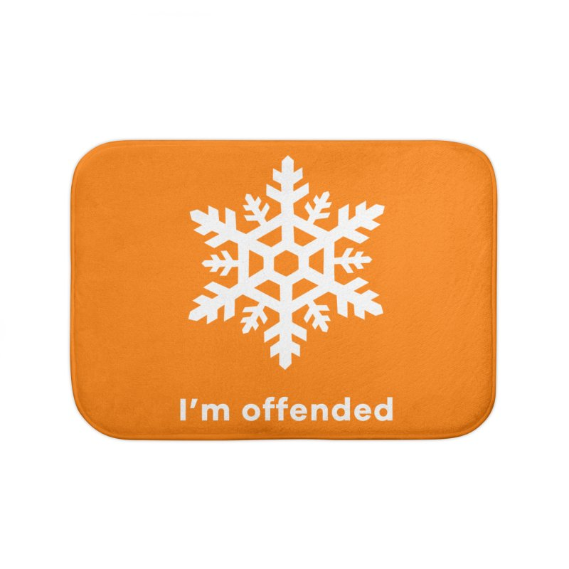 Snowflake Home Bath Mat by The Rake & Herald Online Clag Emporium