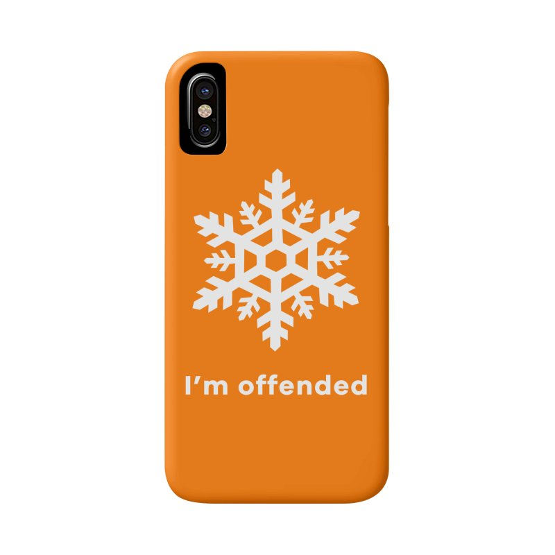 Snowflake Accessories Phone Case by The Rake & Herald Online Clag Emporium