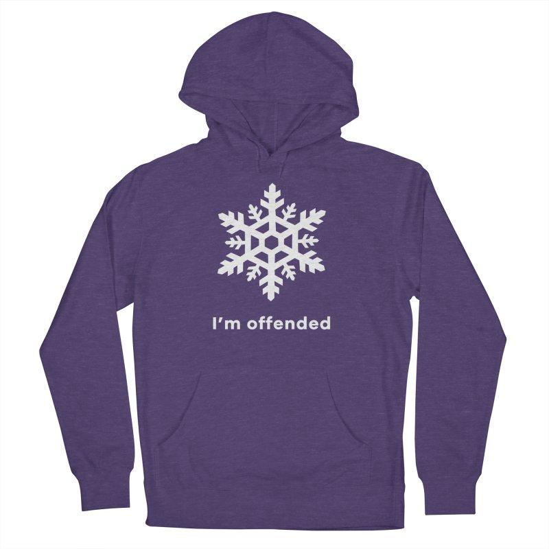 Snowflake Men's Pullover Hoody by The Rake & Herald Online Clag Emporium