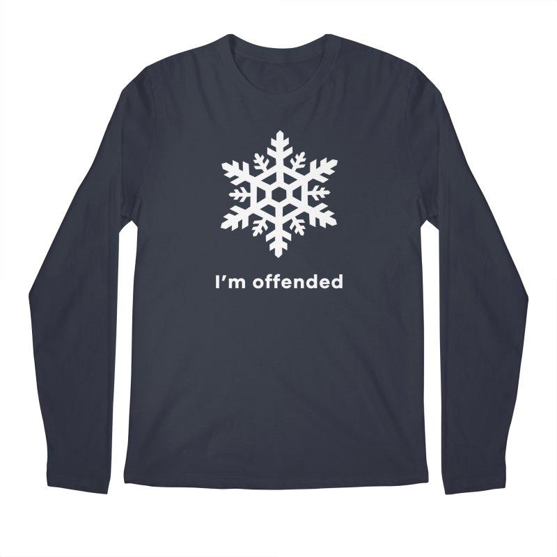 Snowflake Men's Longsleeve T-Shirt by The Rake & Herald Online Clag Emporium