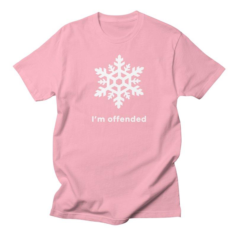 Snowflake Men's T-Shirt by The Rake & Herald Online Clag Emporium