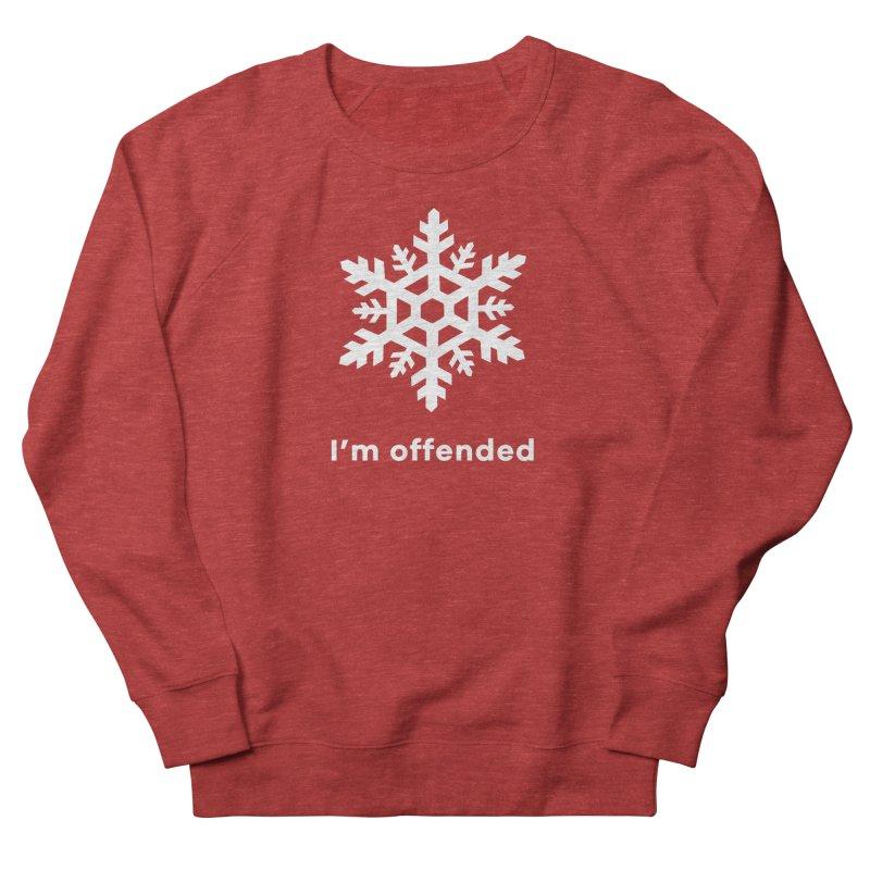 Snowflake Women's French Terry Sweatshirt by The Rake & Herald Online Clag Emporium