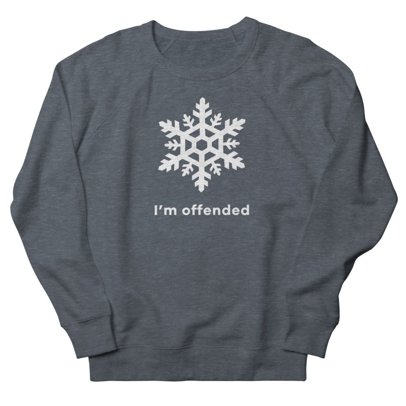 Snowflake Men's Sweatshirt by The Rake & Herald Online Clag Emporium