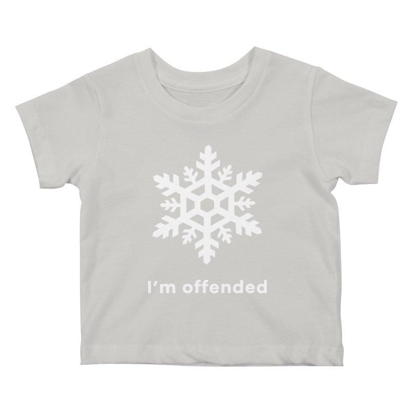 Snowflake Kids Baby T-Shirt by The Rake & Herald Online Clag Emporium