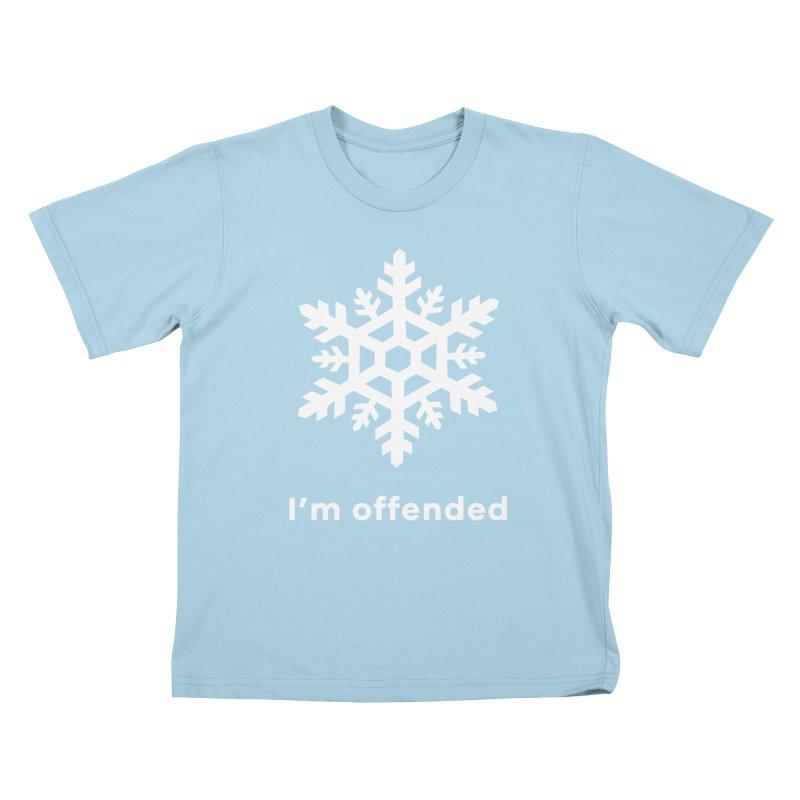 Snowflake Kids T-Shirt by The Rake & Herald Online Clag Emporium