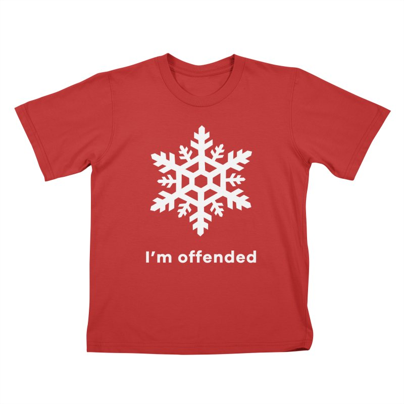 Snowflake Kids T-Shirt by The Rake & Herald Online Clag Emporium
