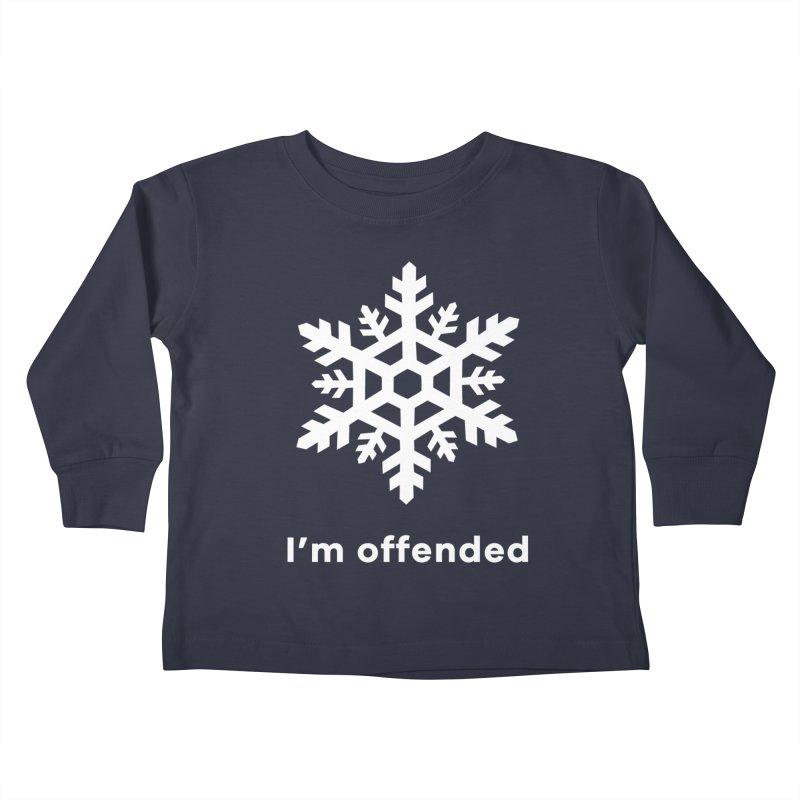 Snowflake Kids Toddler Longsleeve T-Shirt by The Rake & Herald Online Clag Emporium