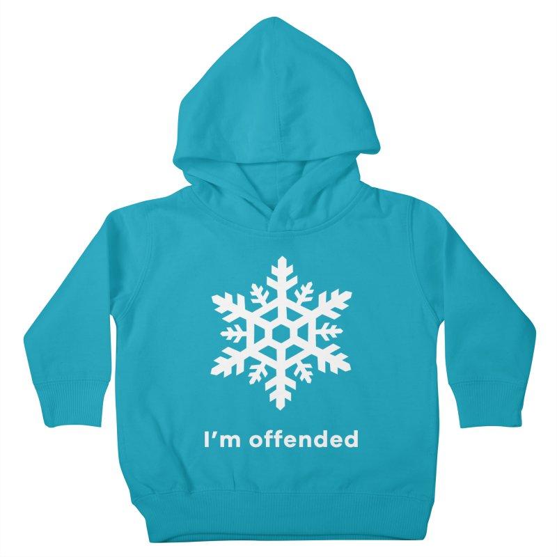Snowflake Kids Toddler Pullover Hoody by The Rake & Herald Online Clag Emporium