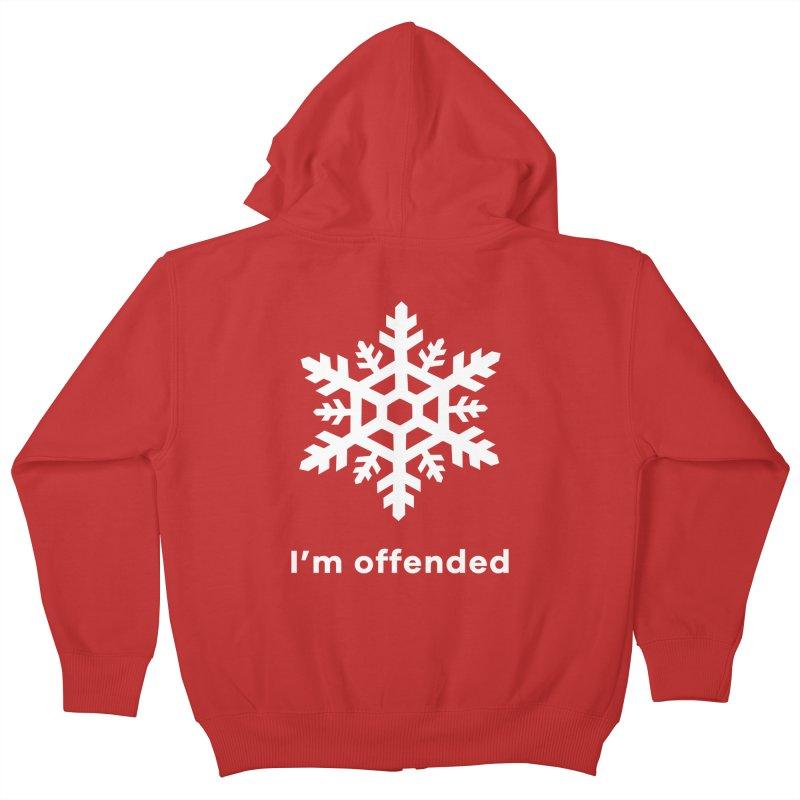 Snowflake Kids Zip-Up Hoody by The Rake & Herald Online Clag Emporium