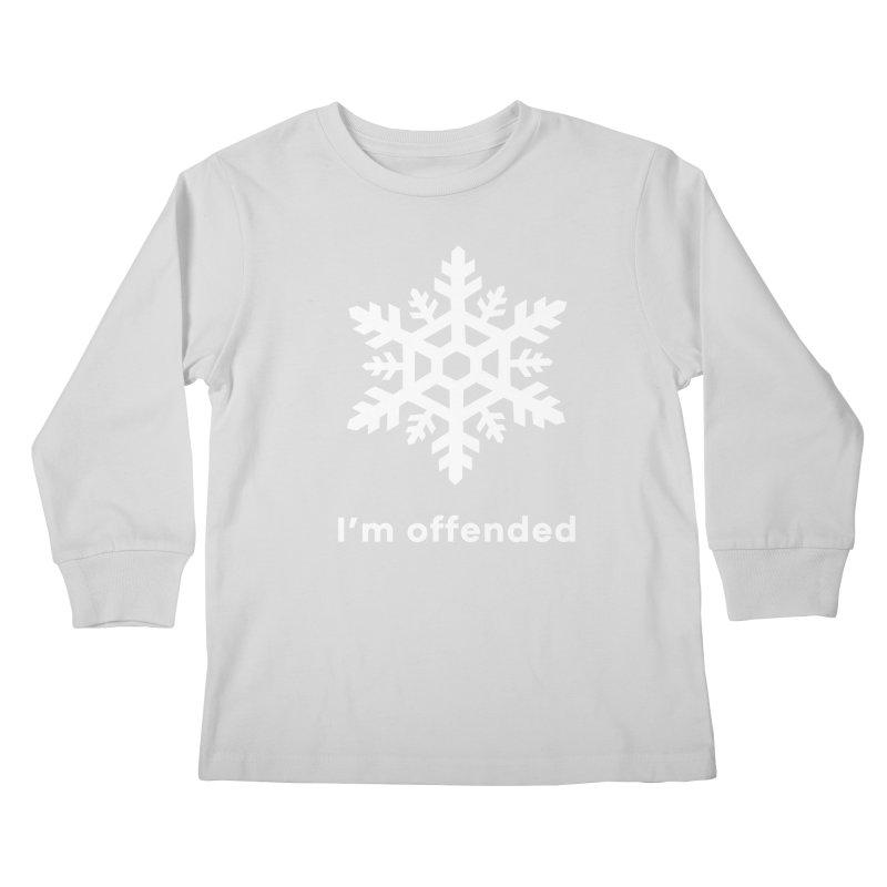Snowflake Kids Longsleeve T-Shirt by The Rake & Herald Online Clag Emporium