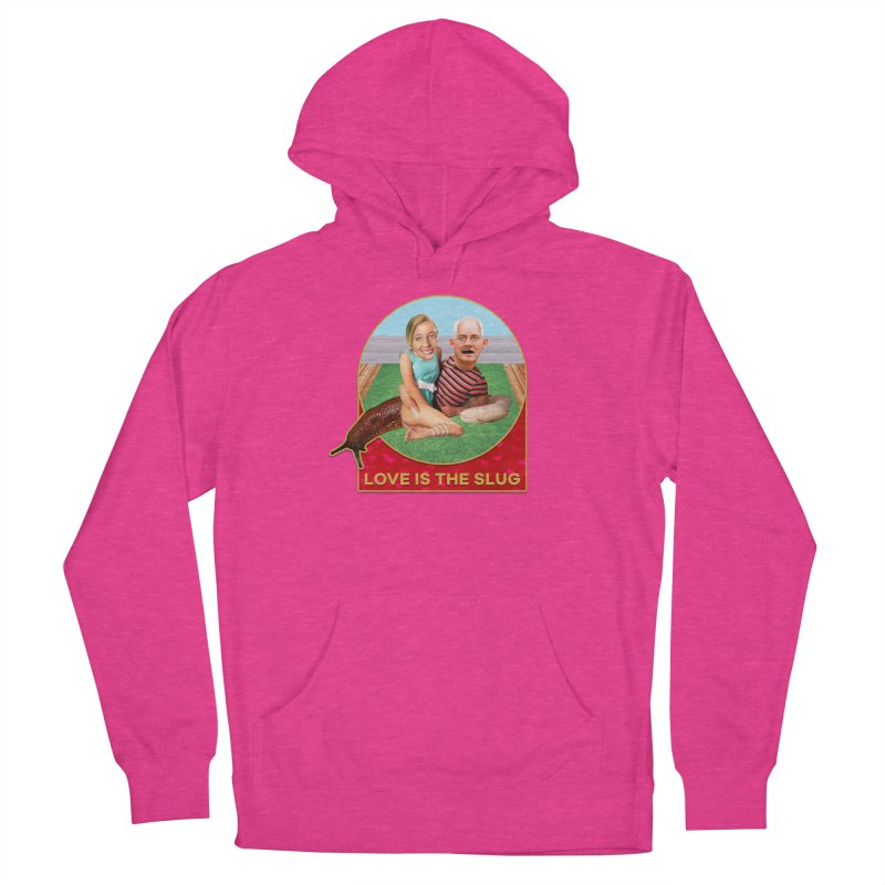 Love Is the Slug Men's French Terry Pullover Hoody by The Rake & Herald Online Clag Emporium