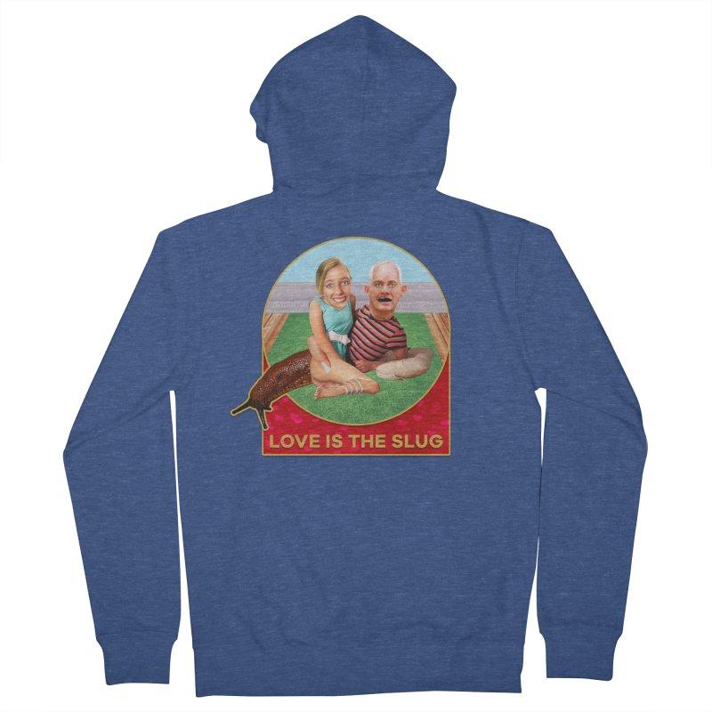 Love Is the Slug Women's Zip-Up Hoody by The Rake & Herald Online Clag Emporium