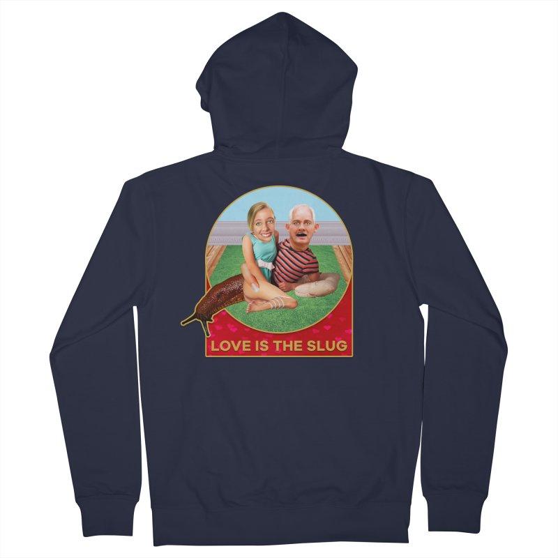 Love Is the Slug Men's Zip-Up Hoody by The Rake & Herald Online Clag Emporium
