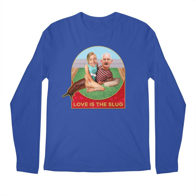 Love Is the Slug Men's Longsleeve T-Shirt by The Rake & Herald Online Clag Emporium