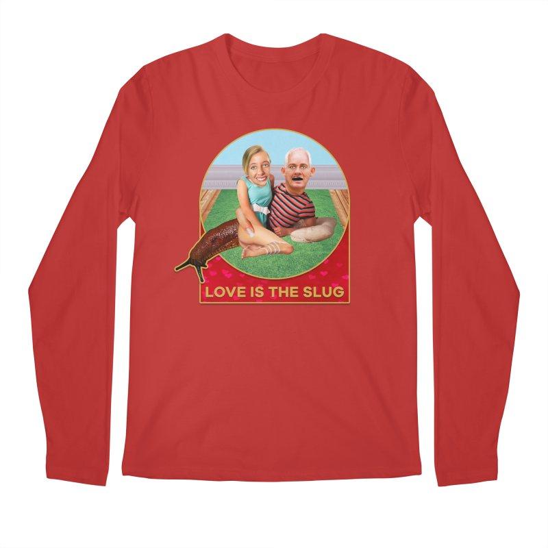 Love Is the Slug Men's Regular Longsleeve T-Shirt by The Rake & Herald Online Clag Emporium