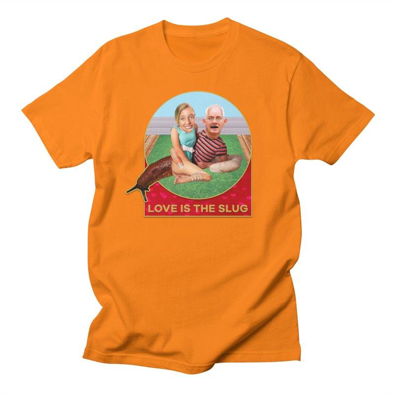 Love Is the Slug Men's Regular T-Shirt by The Rake & Herald Online Clag Emporium