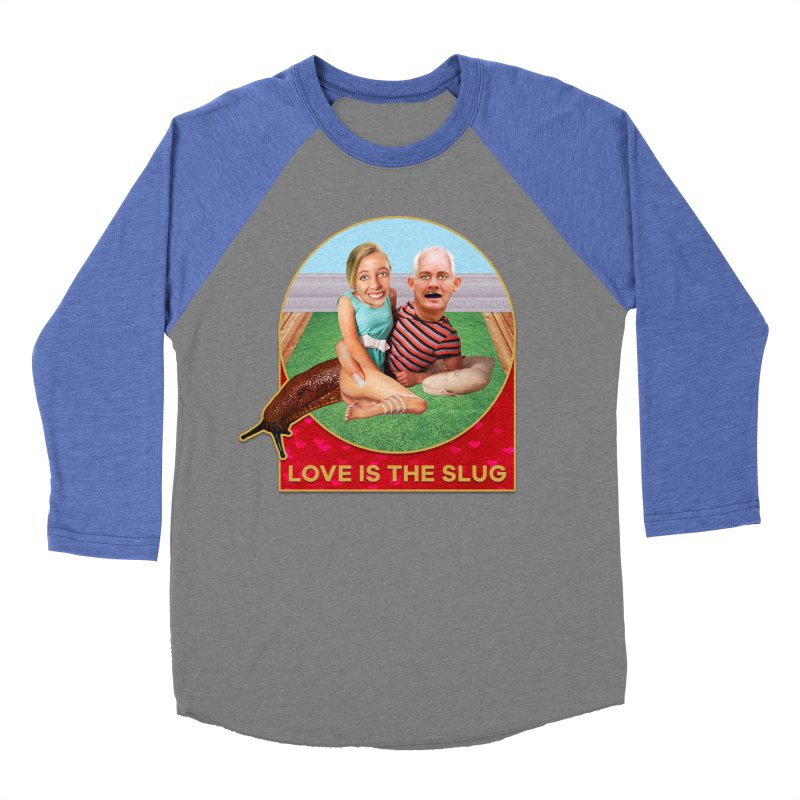 Love Is the Slug Women's Baseball Triblend Longsleeve T-Shirt by The Rake & Herald Online Clag Emporium