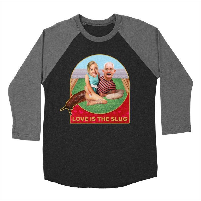 Love Is the Slug Women's Baseball Triblend T-Shirt by The Rake & Herald Online Clag Emporium
