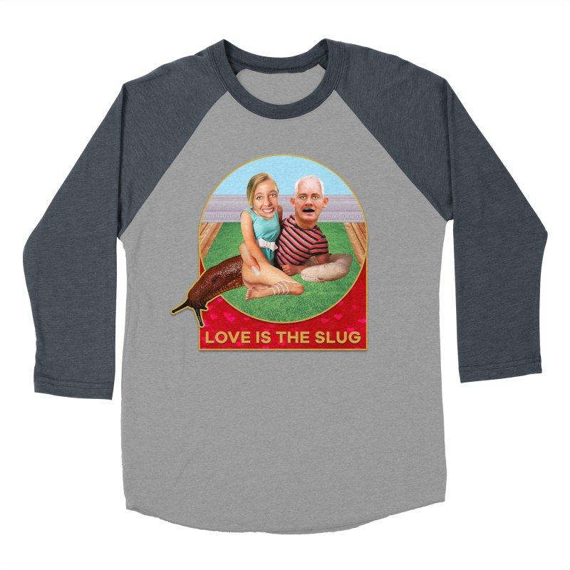 Love Is the Slug Women's Baseball Triblend Longsleeve T-Shirt by The Rake & Herald Online Clag Emporium